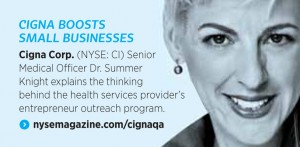 Dr. Summer Knight in NYSE Magazine